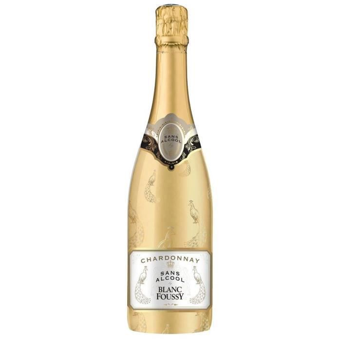 Blanc Foussy Sans alcool Sparkling Chardonnay Blanc - 75 cl