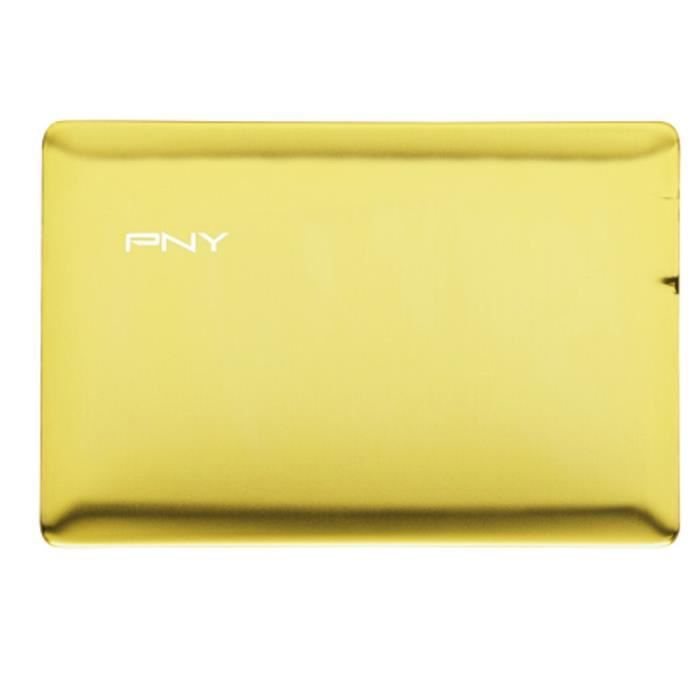 PNY Power Bank Alu 2500 mAh Bling Or