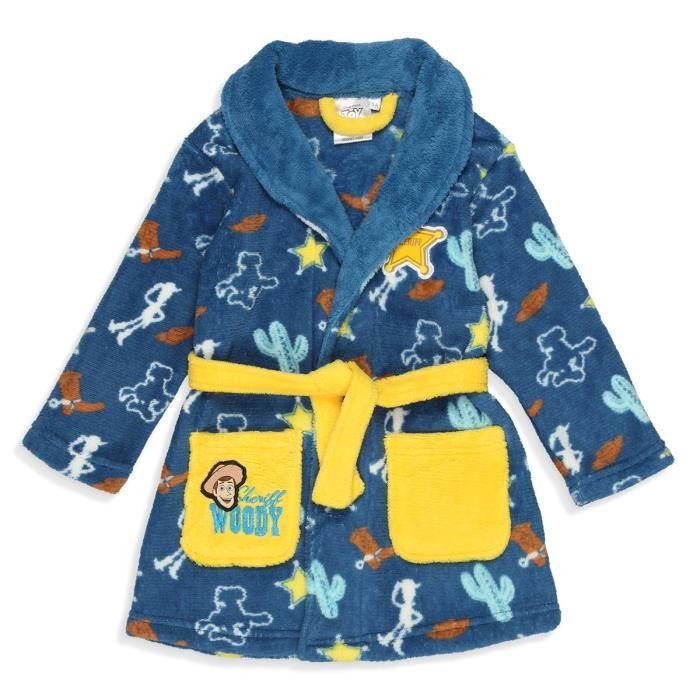 TOY STORY Robe de Chambre Coral Garçon 100% Polyester Bleu