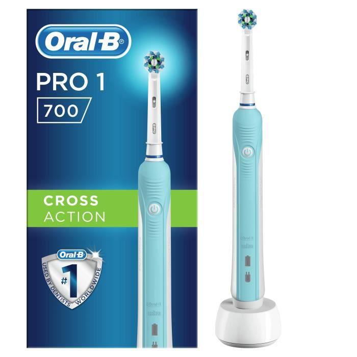 Oral-B PRO 700 Cross Action Brosse à dents électrique