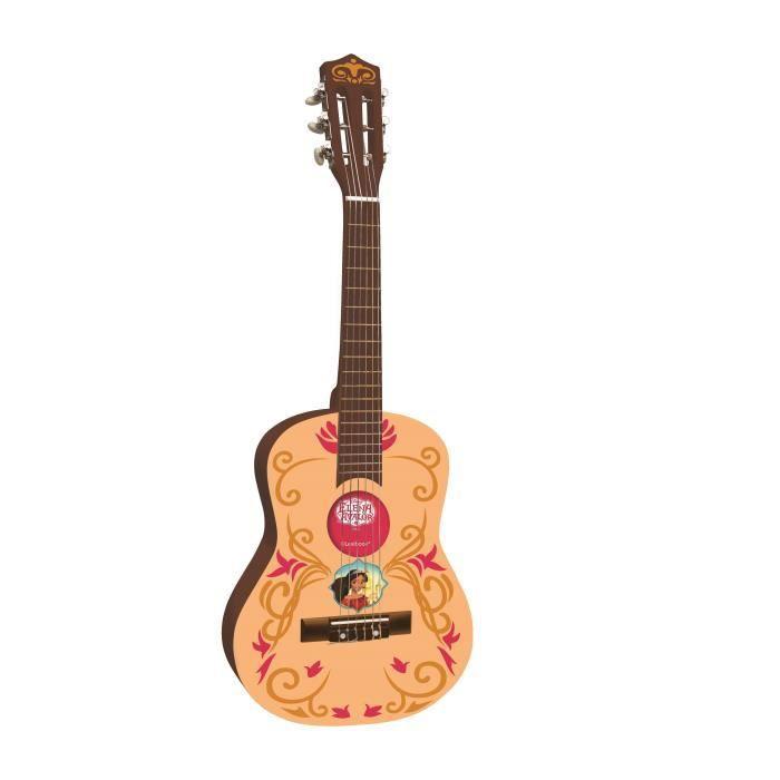 ELENA D'AVALOR Guitare acoustique 78 cm en bois LEXIBOOK - médiateur et inclus