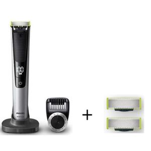 PACK : PHILIPS One Blade Pro QP6520/30 + Pack de 2 lames QP220/55