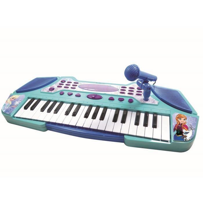 Clavier Electronique avec Micro La Reine des Neiges