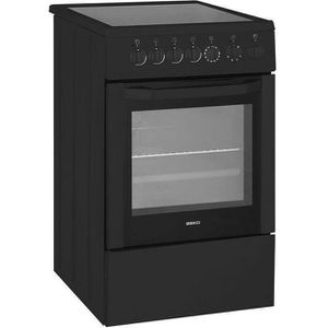 BEKO CSS57100GA Cuisini?re table vitrocéramique - 4 foyers - Four électrique - Catalyse - 65L - A - L50 x H85cm - Anthracite