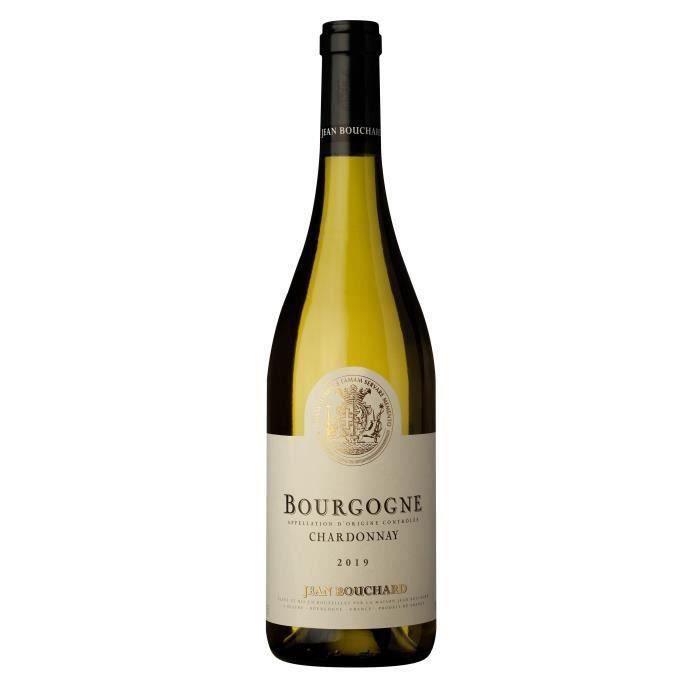 Jean Bouchard 2019 Bourgogne Chardonnay - Vin blanc de Bourgogne