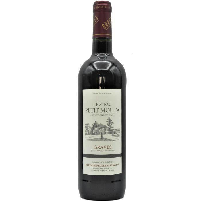 Château Petit Mouta 2018 Graves - Vin rouge de Bordeaux