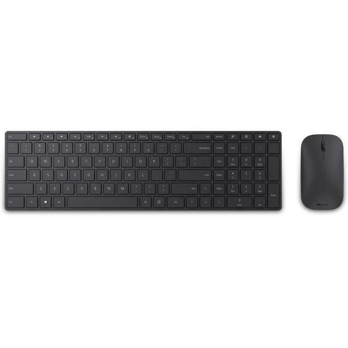 MICROSOFT Clavier et souris Desktop - Bluetooth - Anglais - Sans fil - Wndows 8 - Apple