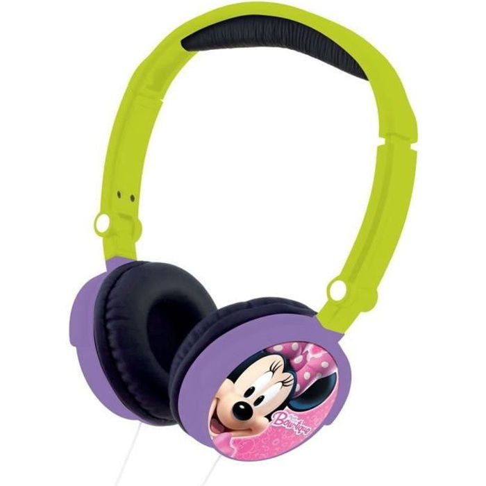 LEXIBOOK - MINNIE - Casque Audio Enfant