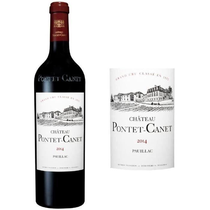 Château Pontet-Canet 2014 Pauillac - Vin rouge de Bordeaux