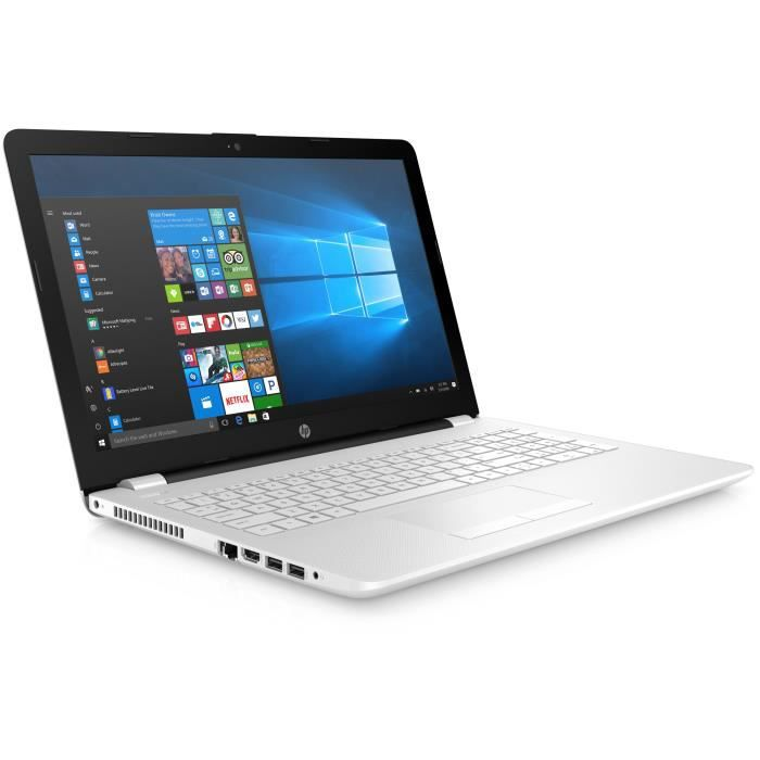 Hp pc portable 15 bs080nf 15 hd 4 go ram intel core i5 7200u stockage 1 to hdd 520 amd radeon windows 10