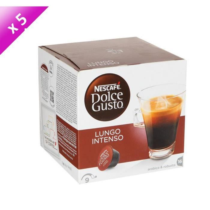 80 capsules DOLCE GUSTO Lungo Intenso