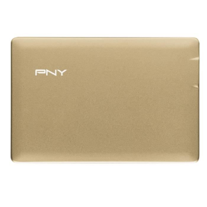 PNY PowerPack Alu 2500 mAh Or