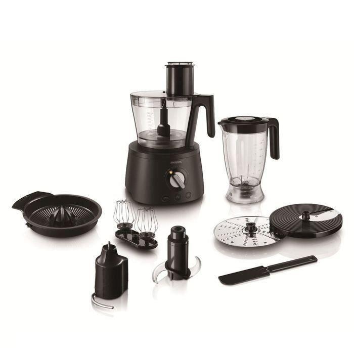 PHILIPS HR7776/90 Robot de cuisine multifonction Avance Collection - 1300W - Noir