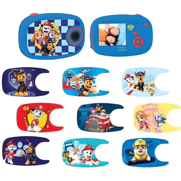 PAT' PATROUILLE Appareil photo numérique enfant 5 MP écran 5 cm LEXIBOOK - personnalisable avec 10 stickers