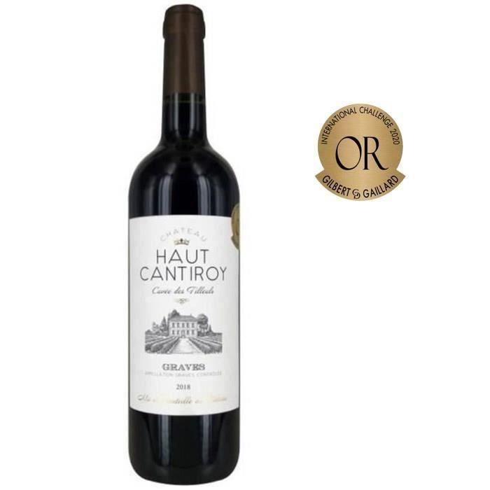 Château Haut Cantiroy 2018 Graves - Vin rouge de Bordeaux