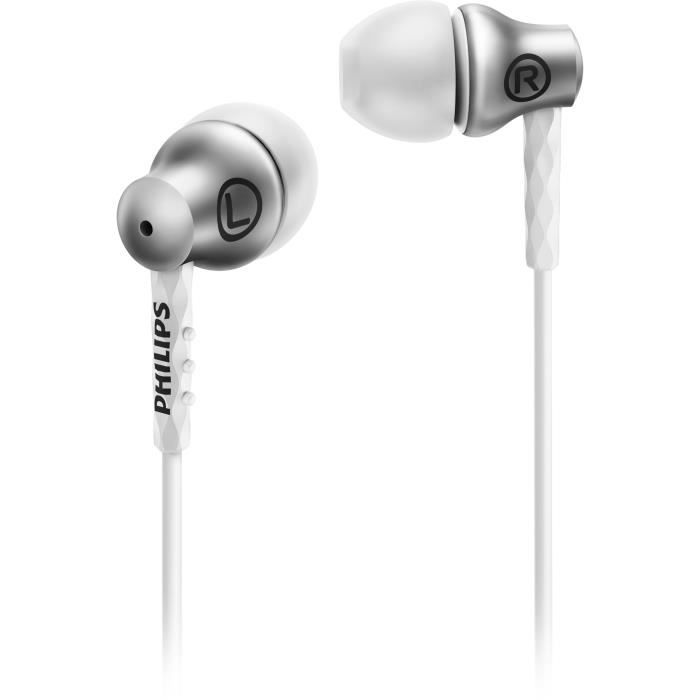 PHILIPS SHE8600 Ecouteurs intra-auriculaires - Silver