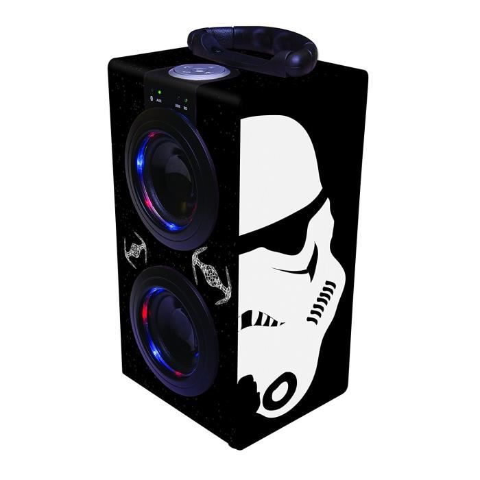 LEXIBOOK - STAR WARS - Mini Enceinte Enfant Bluetooth