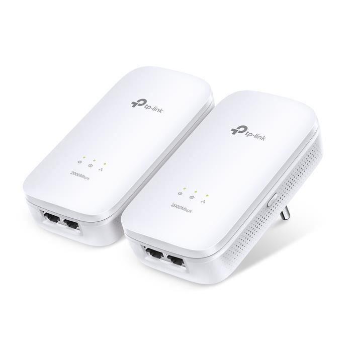 TP-Link Kit de démarrage Powerline Gigabit à 2 ports AV2000
