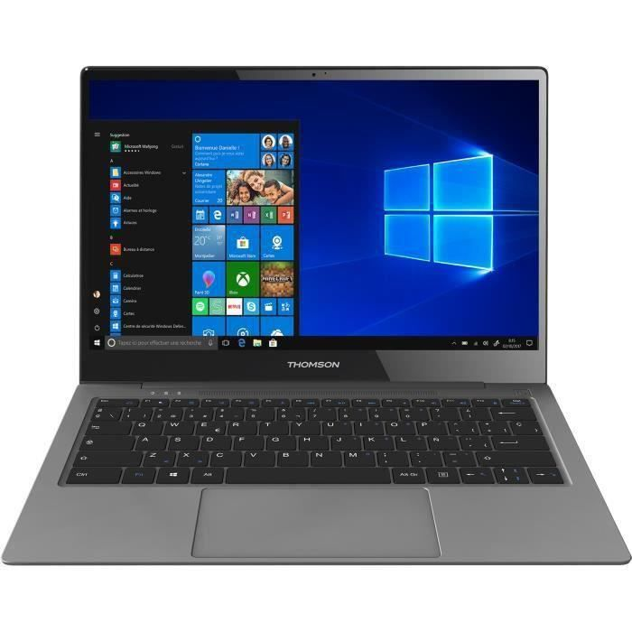 THOMSON Ultrabook Z3 - 13'' FHD - Qualcomm - 24h d'autonomie - Wifi/4G/Bluetooth - Windows 10