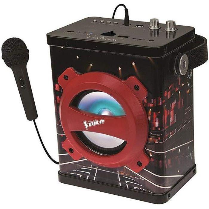 THE VOICE Enceinte Bluetooth® portable avec micro LEXIBOOK