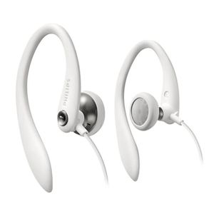 PHILIPS SHS3300WT - Ecouteurs intra auriculaires Sport filaire - Blanc