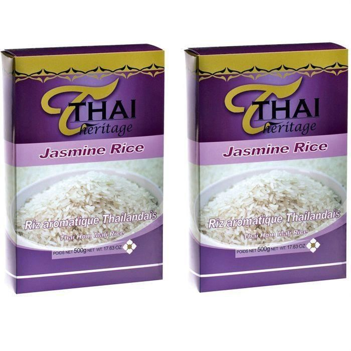[LOT DE 2] Riz Thai parfumé