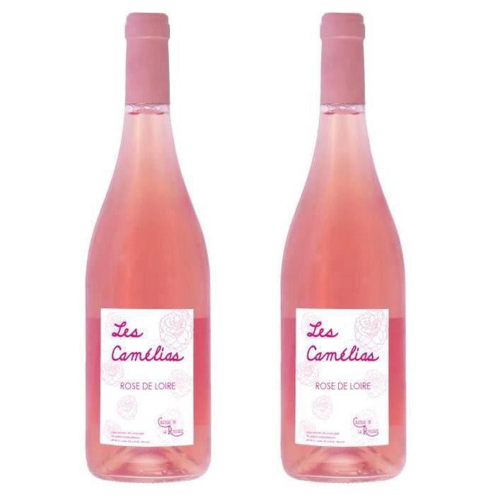 2ème à -50% - Château de la Roulerie 2020 Rosé de Loire - Vin rosé de la Loire - Vegan
