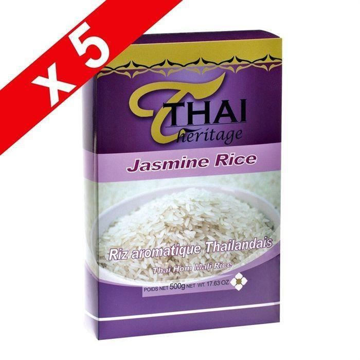 [LOT DE 5] Riz Thai parfumé