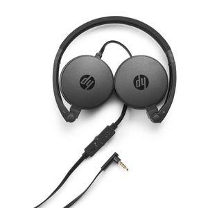 CASQUE - ÉCOUTEURS HP Casque Audio Noir H2800