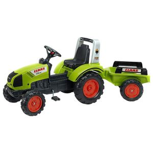 TRACTEUR - CHANTIER FALK Tracteur à pédales CLAAS Arion 430 avec remor