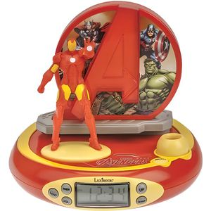 RÉVEIL ENFANT LEXIBOOK - Avengers Iron Man - Radio Réveil Enfant