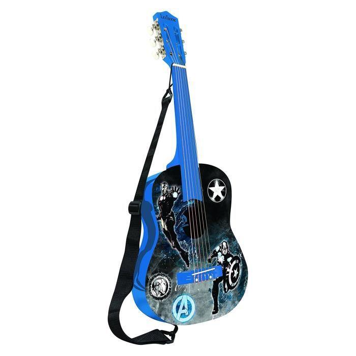 INSTRUMENT DE MUSIQUE LEXIBOOK - AVENGERS - Guitare Acoustique Enfant -
