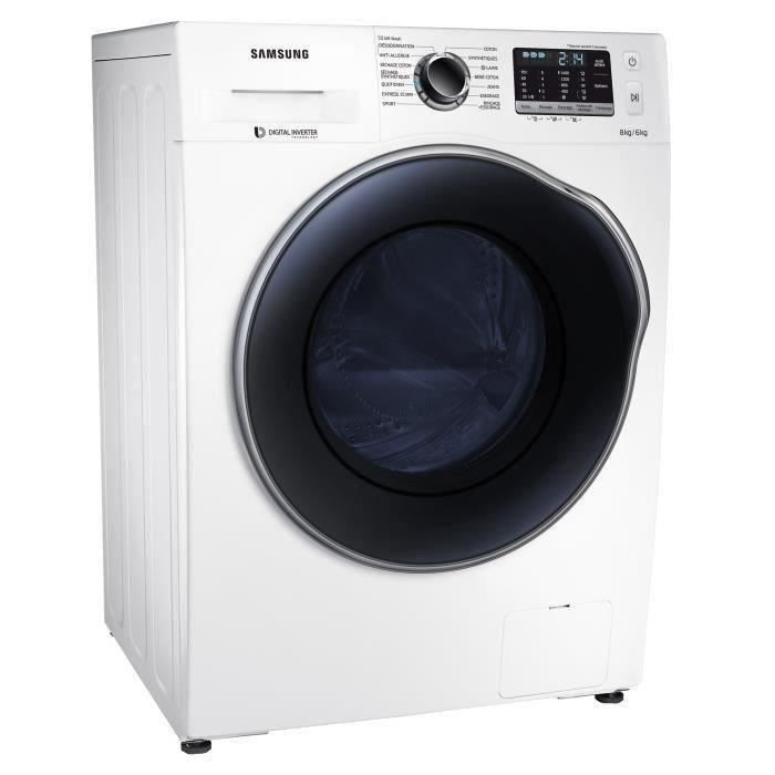 samsung wd80j5430aw lave linge s chant lav 8 kg electrom nager. Black Bedroom Furniture Sets. Home Design Ideas
