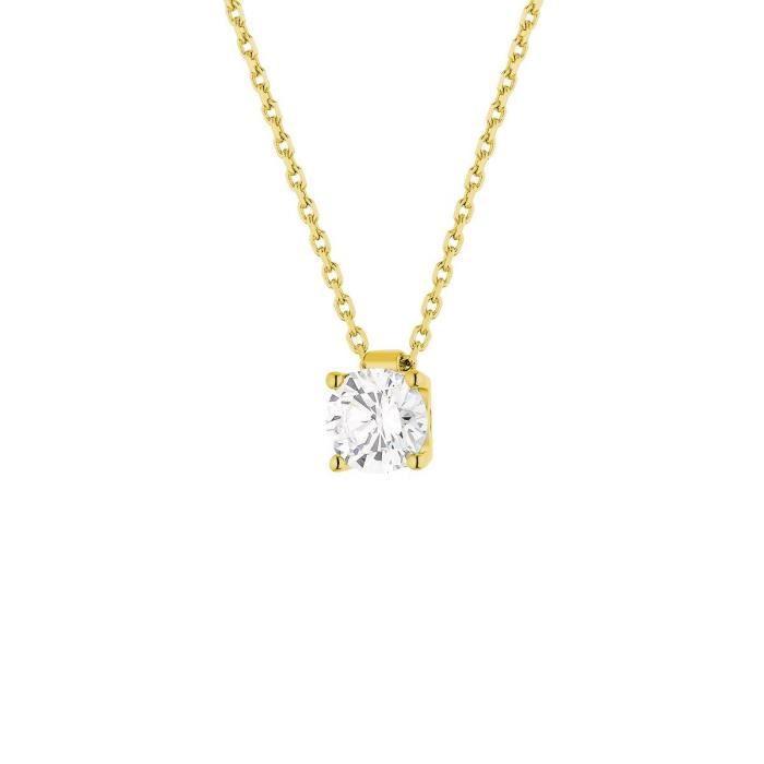 collier diamant cdiscount