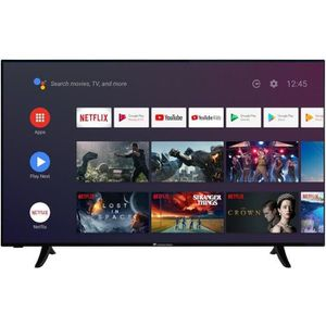 Téléviseur LED CONTINENTAL EDISON Android Smart TV LED 4K UHD - 5