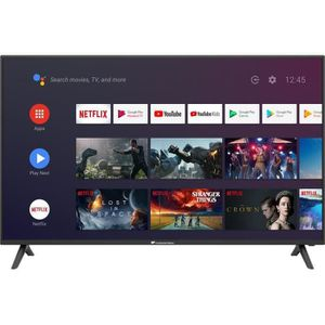 Téléviseur LED Continental Edison Smart Android TV 58''4K UHD Wi-