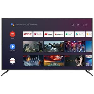 Téléviseur LED Conitnental Edison Smart Android TV 65''4K UHD HDR