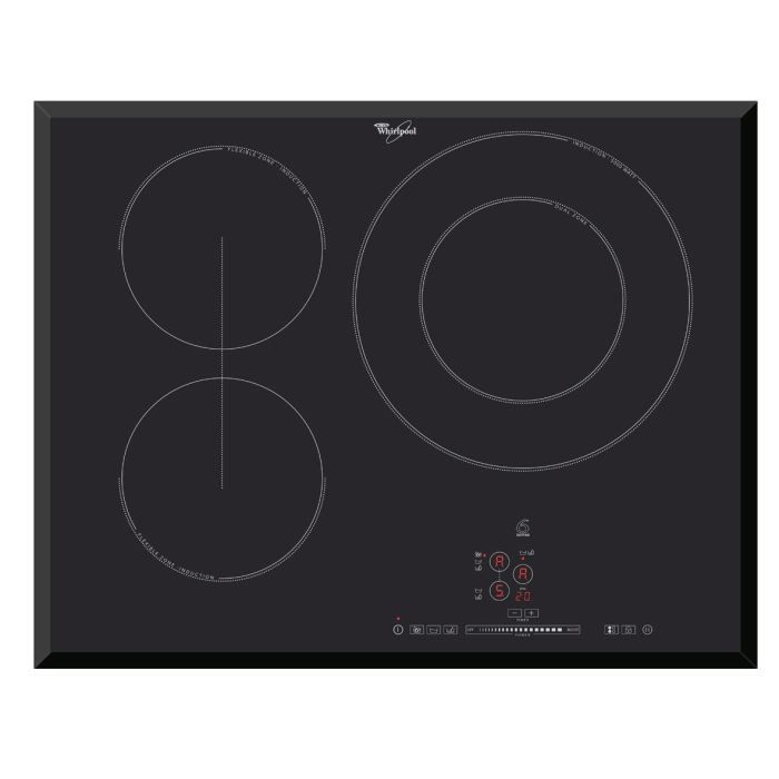 whirlpool acm750ba plaque induction achat vente plaque induction cdiscount. Black Bedroom Furniture Sets. Home Design Ideas