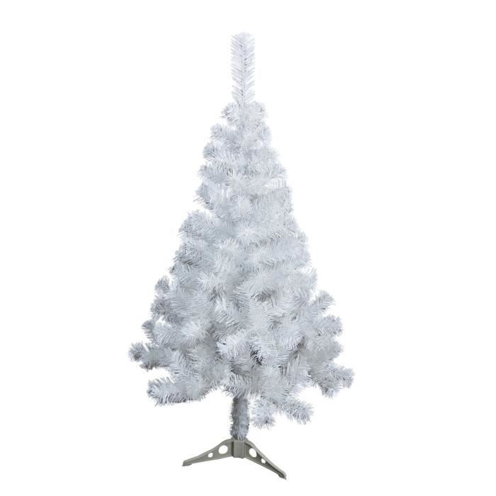sapin de no l artificiel 80 branches blanc 90 cm achat. Black Bedroom Furniture Sets. Home Design Ideas