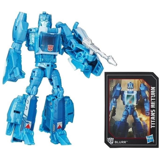 FIGURINE - PERSONNAGE TRANSFORMERS Generation Deluxe Blurr 15cm
