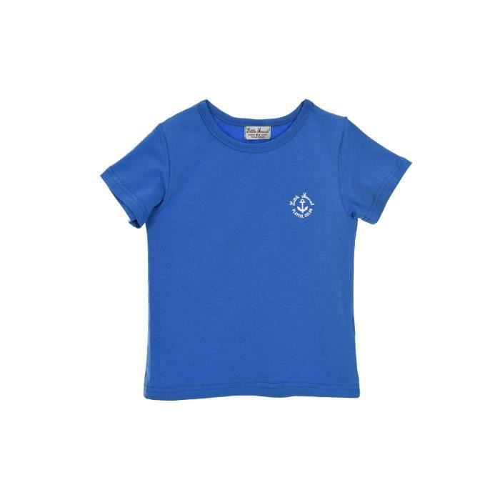 Ensemble de vêtements LITTLE MARCEL Ensemble T-shirt + Boxer Bleu Enfant