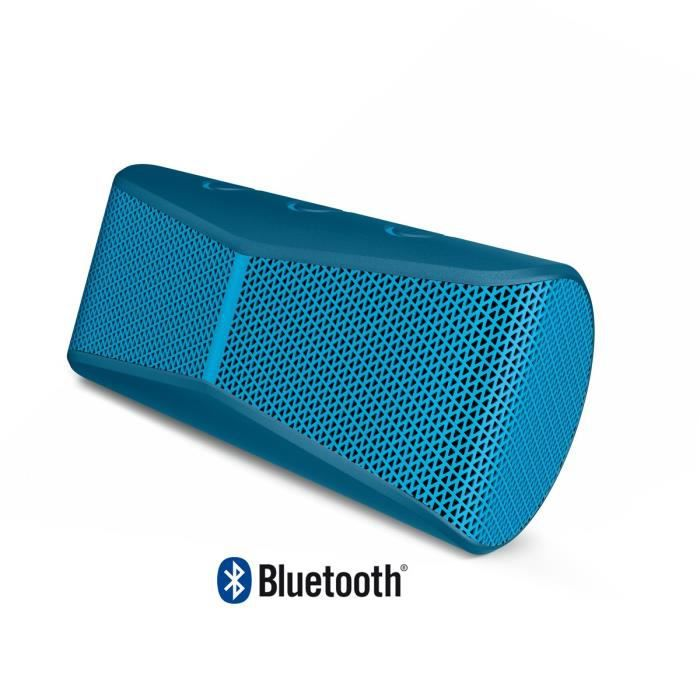 logitech x300 enceinte bluetooth bleu enceintes. Black Bedroom Furniture Sets. Home Design Ideas