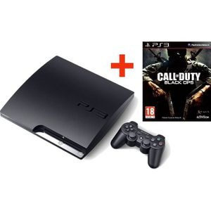 CONSOLE PS3 PS3 160 Go NOIRE + CALL OF DUTY BLACK OPS