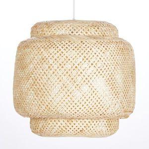 LUSTRE ET SUSPENSION BALI Suspension bambou - Armature Ø 40 x H 35 cm -