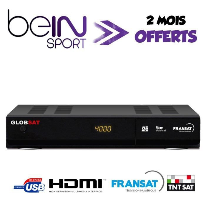 strong gs2000 fransat hd pvr offre beinsport achat. Black Bedroom Furniture Sets. Home Design Ideas