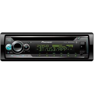 AUTORADIO PIONEER Auto Radio CD - RDS - 4 x 50w - USB - Blue