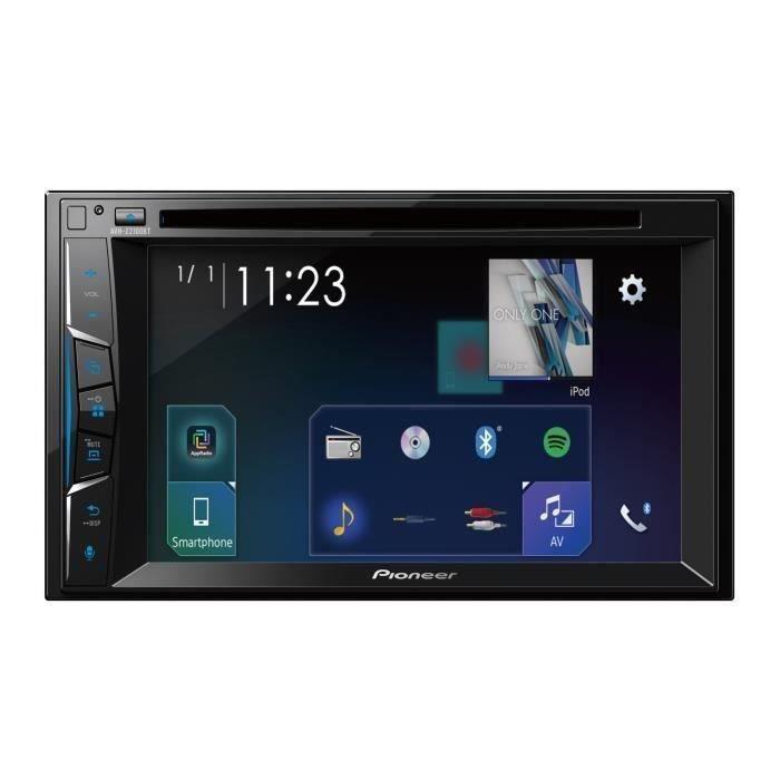 """AUTORADIO PIONEER Auto Radio Vidéo Apple CarPlay DVD 6,2"""" -"""