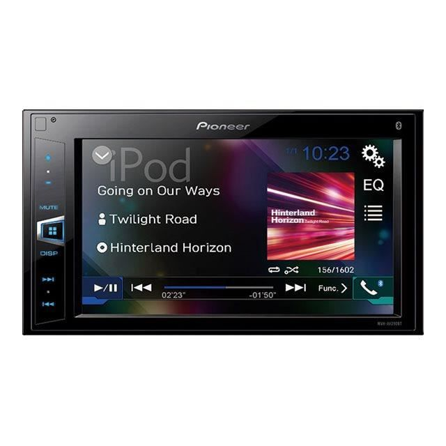 autoradio double din pioneer achat vente autoradio double din pioneer pas cher cdiscount. Black Bedroom Furniture Sets. Home Design Ideas