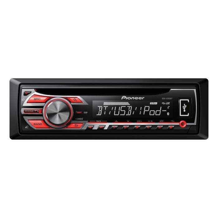 pioneer deh 4500bt autoradio cd usb ipod bluetooth achat vente autoradio pioneer deh 4500bt. Black Bedroom Furniture Sets. Home Design Ideas