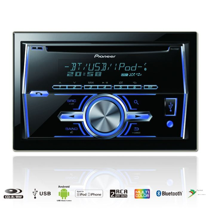 pioneer fh x700bt autoradio 2 din cd bluetooth achat vente autoradio pioneer fh x700bt. Black Bedroom Furniture Sets. Home Design Ideas